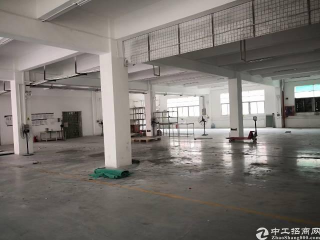 沙井西部大型工业园 二楼1600平方