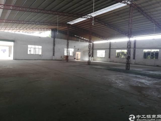 茶山新出独院钢构厂房1000平