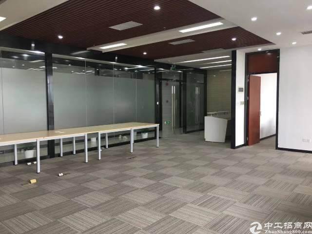 南山西丽侨香路边甲级精装写字楼110元/平图片5