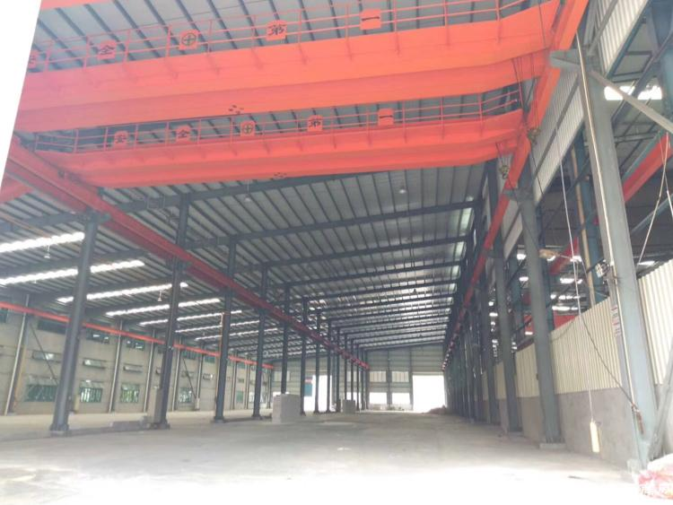 寮步镇原房东新出2850平方钢构一层八米厂房