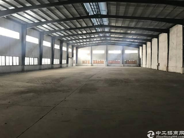 万江新出独栋钢构厂房4800平方,水电齐全,价格便宜