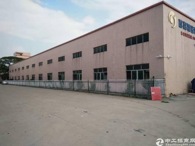 道滘镇18000平米砖墙到顶单一层钢构厂房出租,滴水9米!