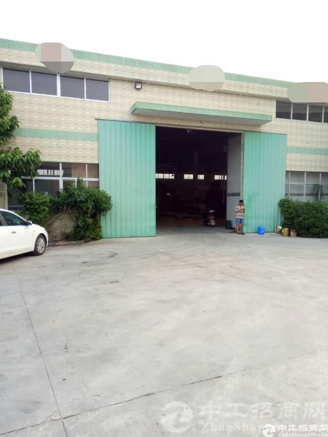 厚街南五实业客分租单一层钢结构厂房2500平,高7米有隔热层