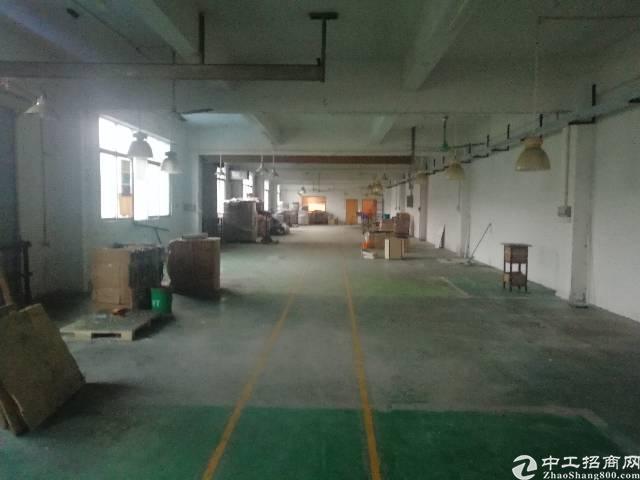 松岗山门新出楼上1000平米精装修厂房出租