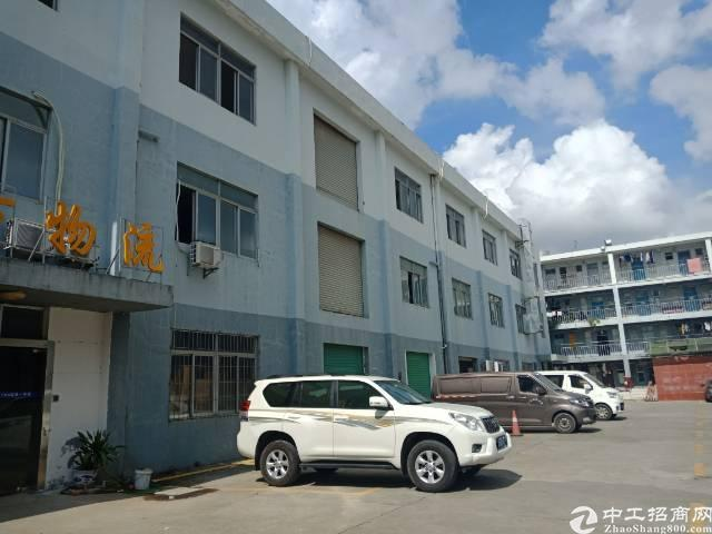 布吉下李朗新出1180平厂房,1楼720,2楼480。可分租