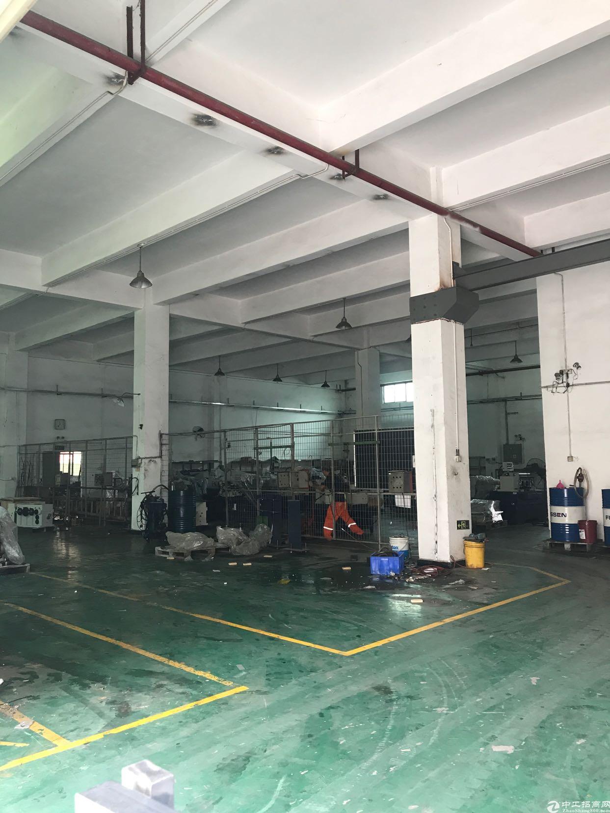 松岗高速出口一楼1000平方带精装修厂房招租
