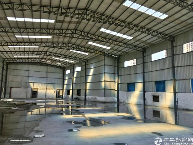 清溪镇原房东单一层铁皮房1200平米可做污染行业