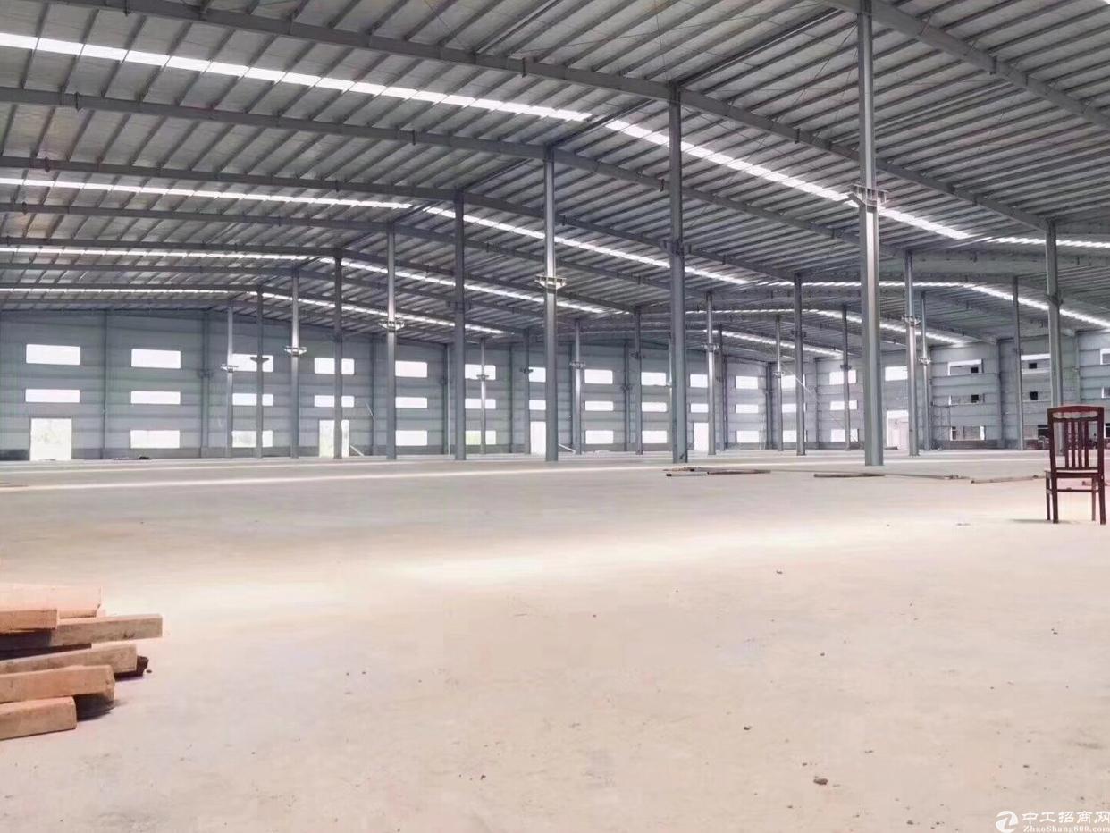 松岗新出超大独院厂房滴水8米原房钢构厂房招租-图5