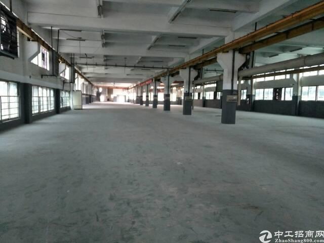 松岗带行车厂房整层2500平米出租