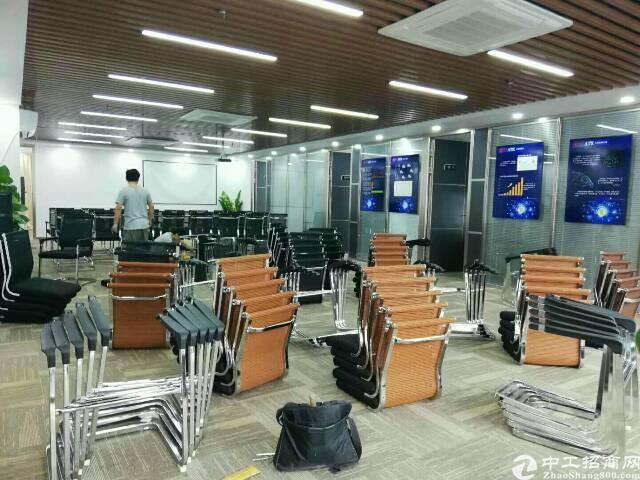 (出租)福永地铁口同泰时代广场245平带办公家具