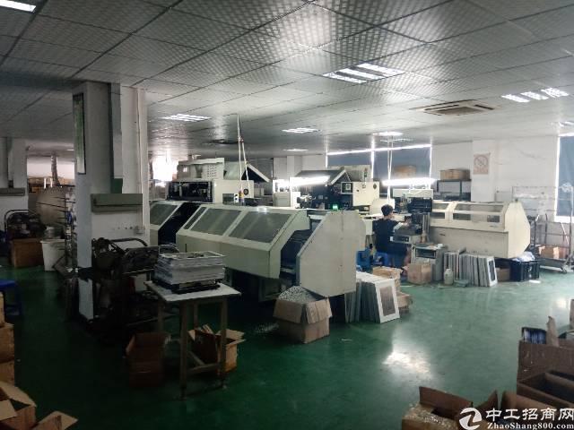 福永白石厦龙王庙新出楼上750平带装修厂房