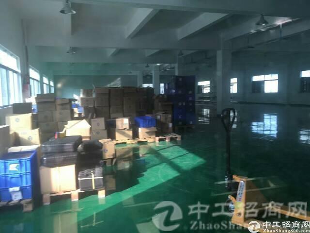 厚街镇陈屋村精品独院厂房二楼1600平火爆招租,八成新精装修