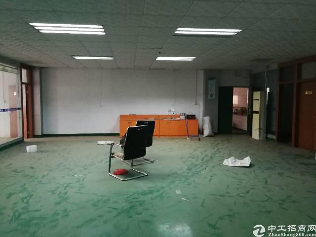 凤岗镇雁田新出带办公室、地坪漆标准厂房二楼500平