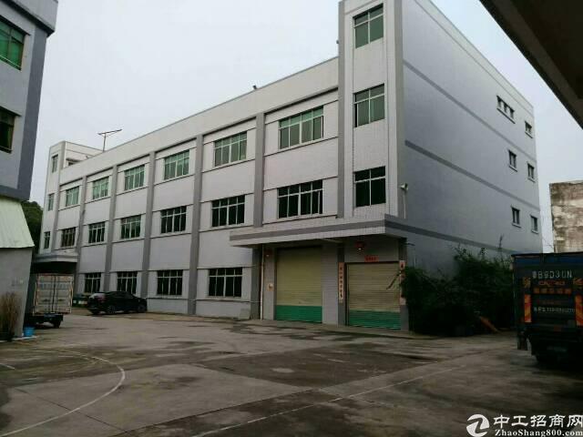 松岗潭头工业区新出独院厂房7200平米出租
