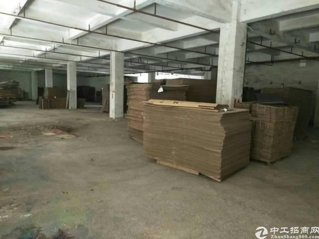 大岭山镇原房东标准一楼厂房1000平米,实际面积出租