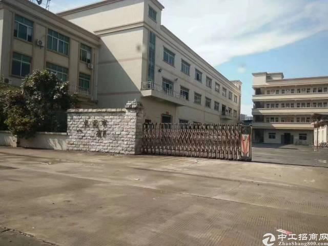 茶山新出独门独院标准厂房4600平方形象漂亮