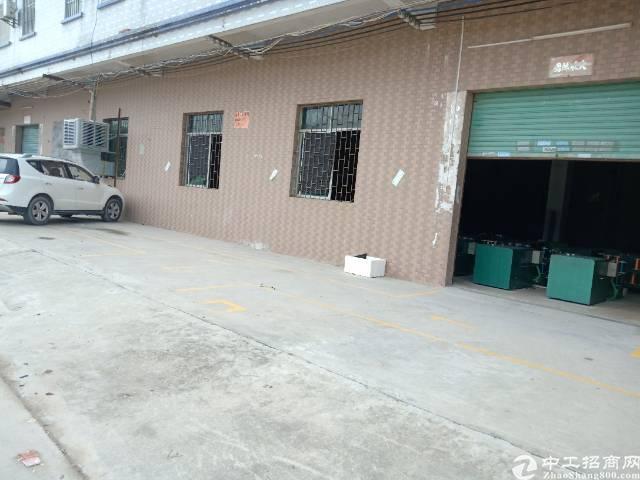 企石镇标准厂房分租一楼500方