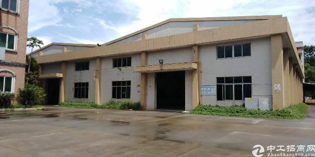 常平新出独门独院单一层厂房8800,有独立办公楼