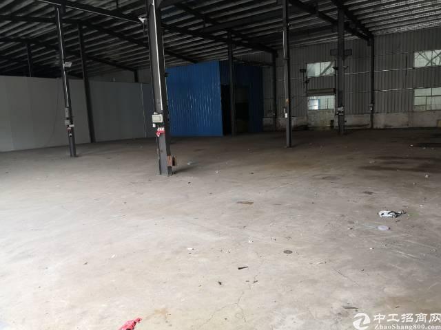 清溪谢坑新出单一层钢构厂房