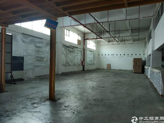 四联红棉路边专业食品仓空出2500平一楼层高六米有卸货平台