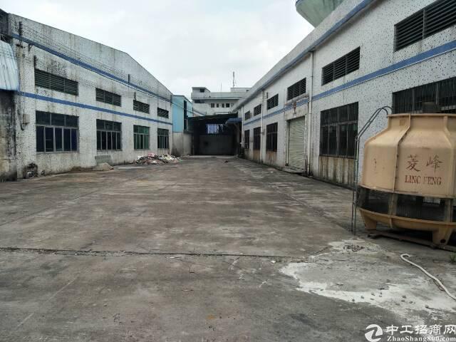 公明上村单一层9米高钢结构厂房