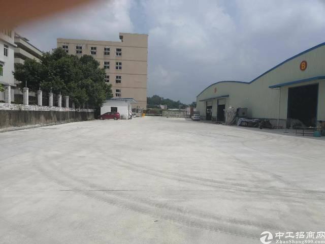 靠山边独栋可做污染行业钢构厂房3200平方