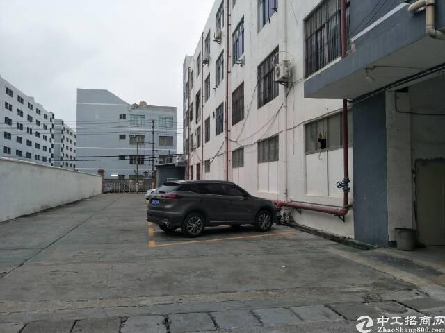 新桥莞深高速口附近大型工业园区独院厂房出租3楼整层1500平