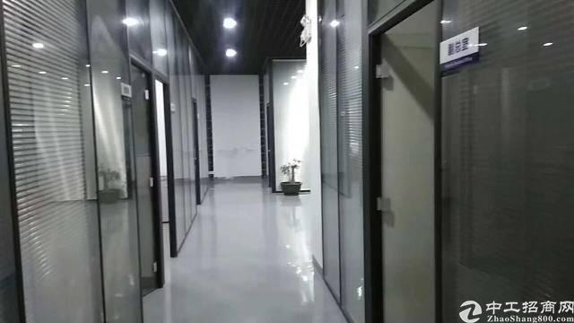 福永宝安大道附近大型工业园区1800平米整层带装修厂房出租-图2