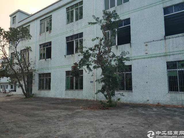 横岗四联原房东厂房空出独院4800平价格仅18元有两吨电梯