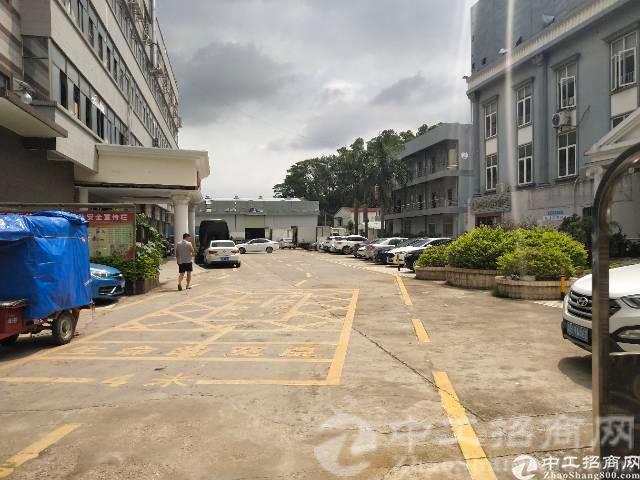 厚街下汴经典独院实业客分租一楼500平方,园区形像好空地大