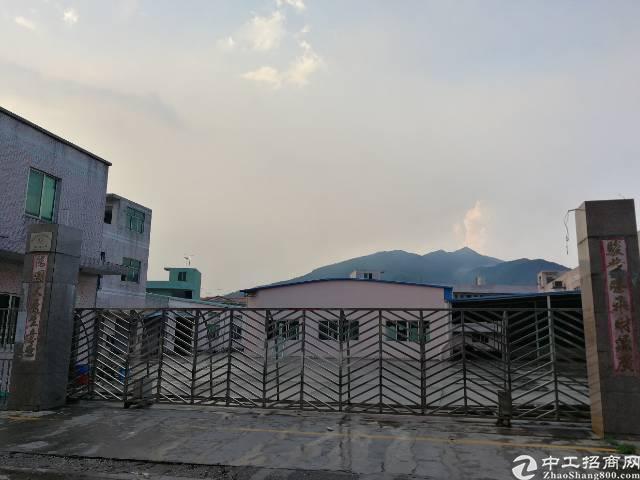 东莞中堂占地47亩建筑15000国有厂房出售