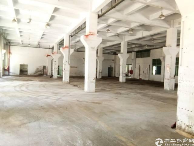 福永高速边一楼2500平米厂房出租可分租