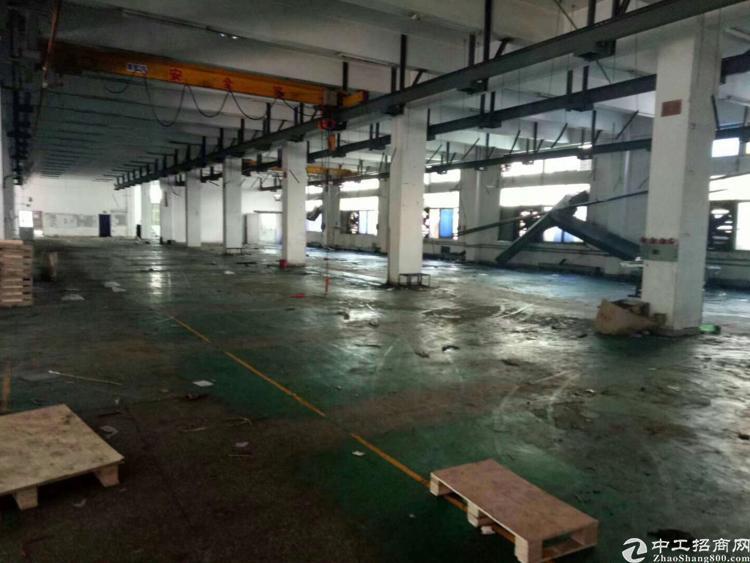 福永塘尾新出一楼2000平方带行车厂房出租-图2