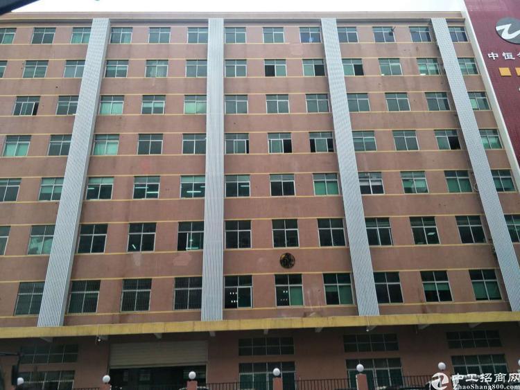 福永和平沿江高速出口附近新出楼上2000平方厂房出租