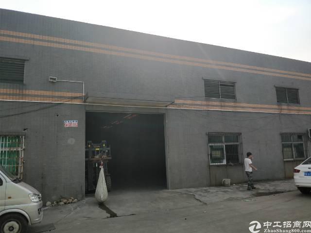 大朗莞樟路旁新出独院600平铁皮房,里面现成水电装修!