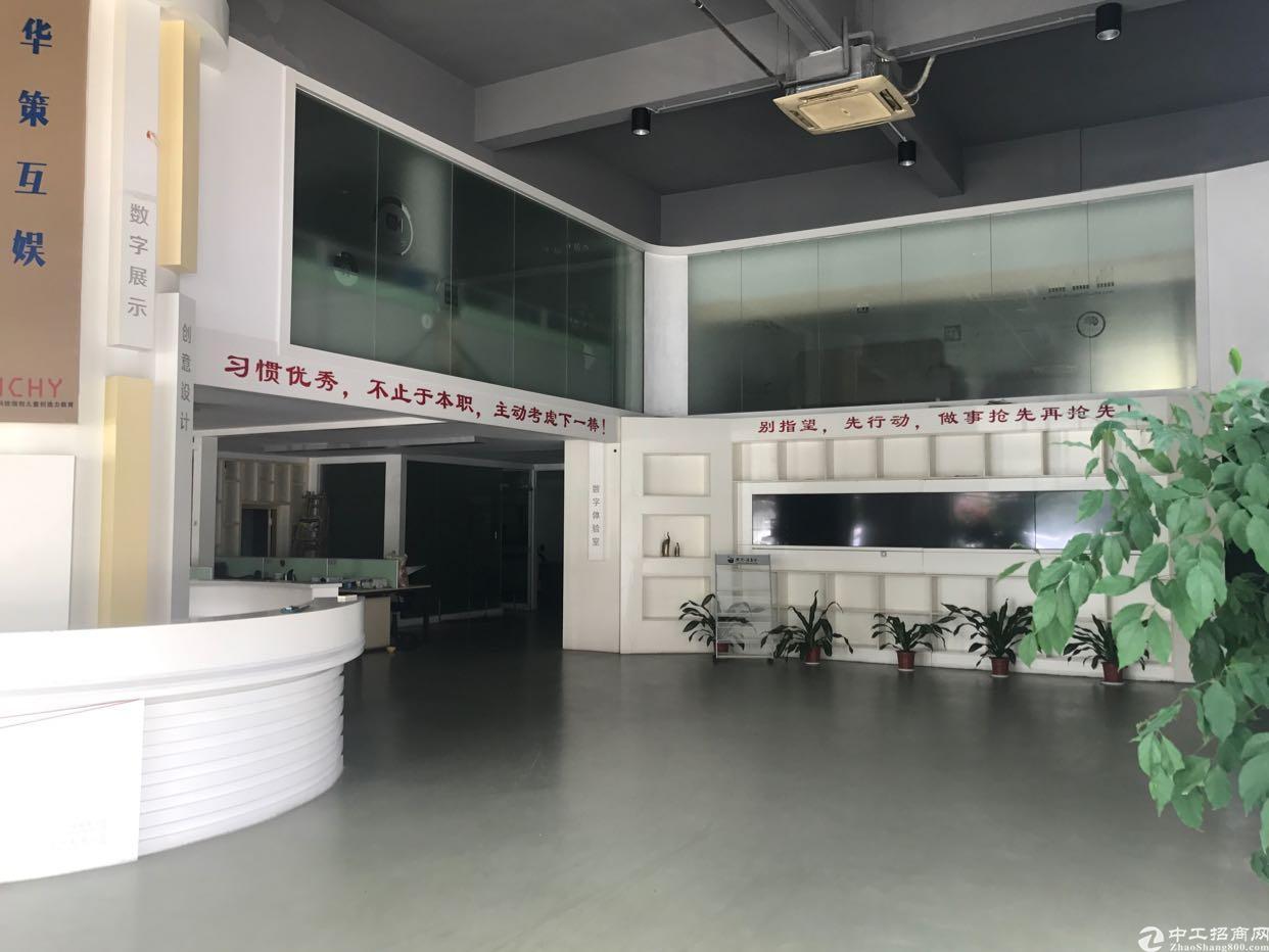 福永凤凰新出一楼精装修厂房1300平  带有办公室适合贸易