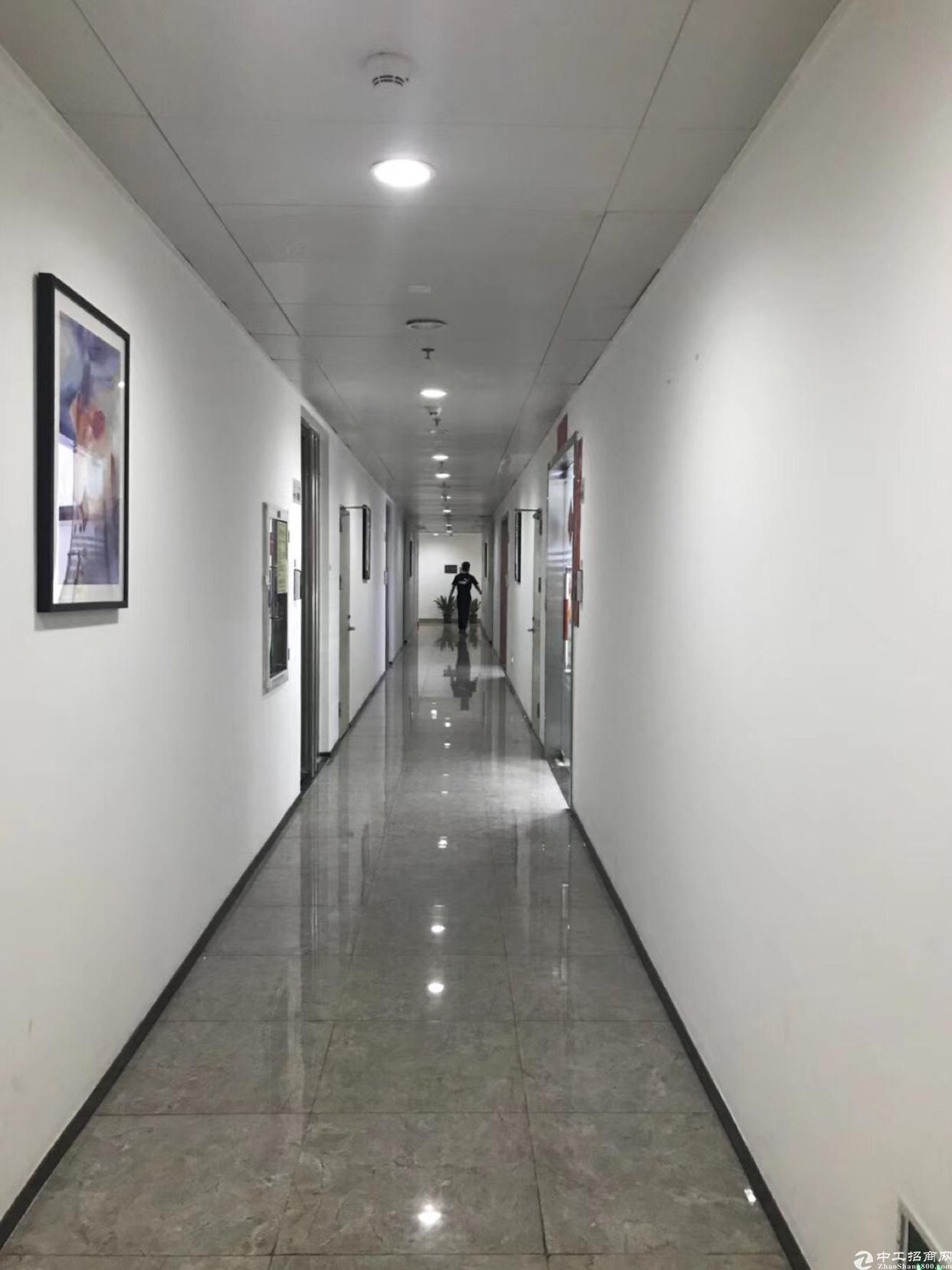 南山新出花园式研发办公楼1000平米出租