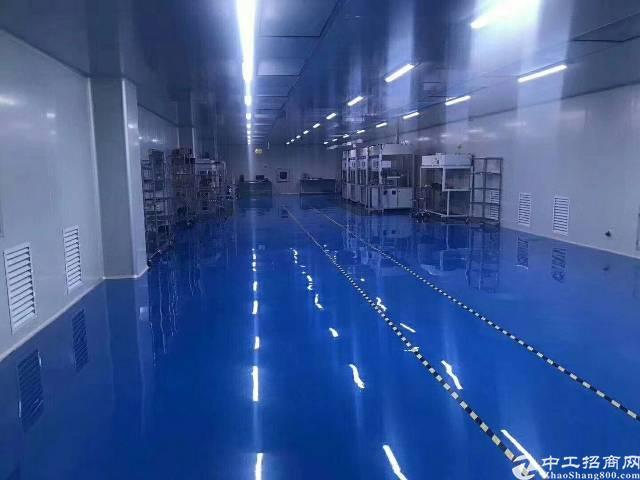 福永凤凰新出楼上精装修千级无尘车间无需转让。总面积700