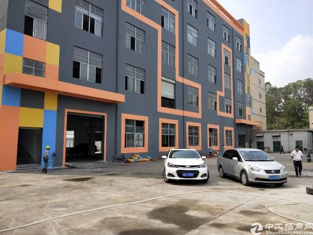 观澜轻轨站旁全新升级产业园单层1700平厂房出租