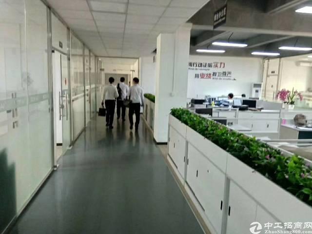 福永凤凰楼上600平带装修厂房,有前台办公室,没有转让费,面