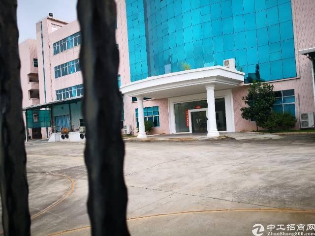 东莞九成新独院标准厂房带红本14000平方出租