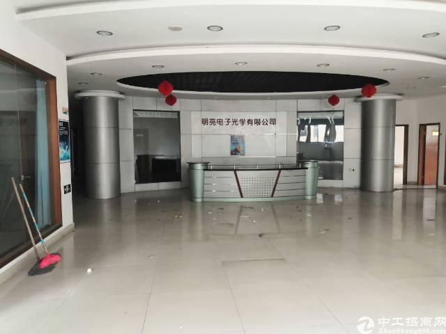 福永塘尾塘美商场旁边工业园区1500平米整层带装修厂房出租