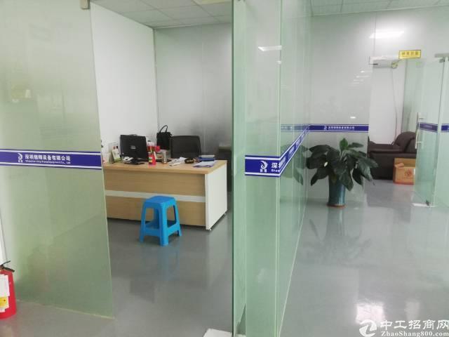 沙井后亭地铁口新出楼上整层2200平精装厂房出租-图2