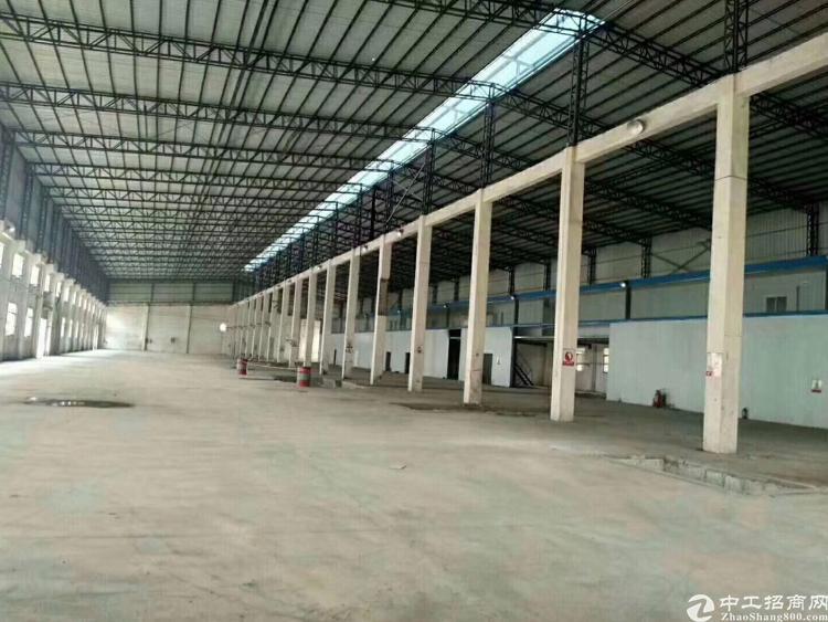 龙华汽车站附近单一层10米高刚构厂房招租-图3