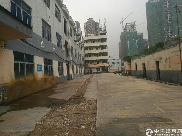 公明楼村公常路边独栋1-3层4000平米租25块