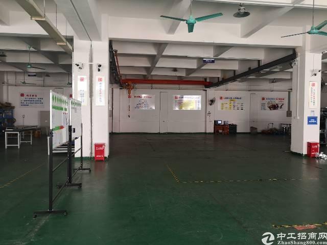 寮步镇大型工业园区1楼800平方厂房出租