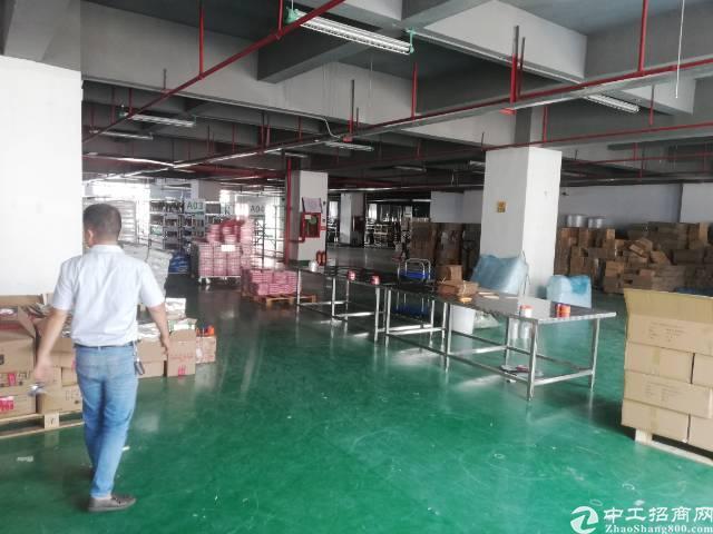 沙井后亭地铁口新出楼上整层2200平精装厂房出租-图6