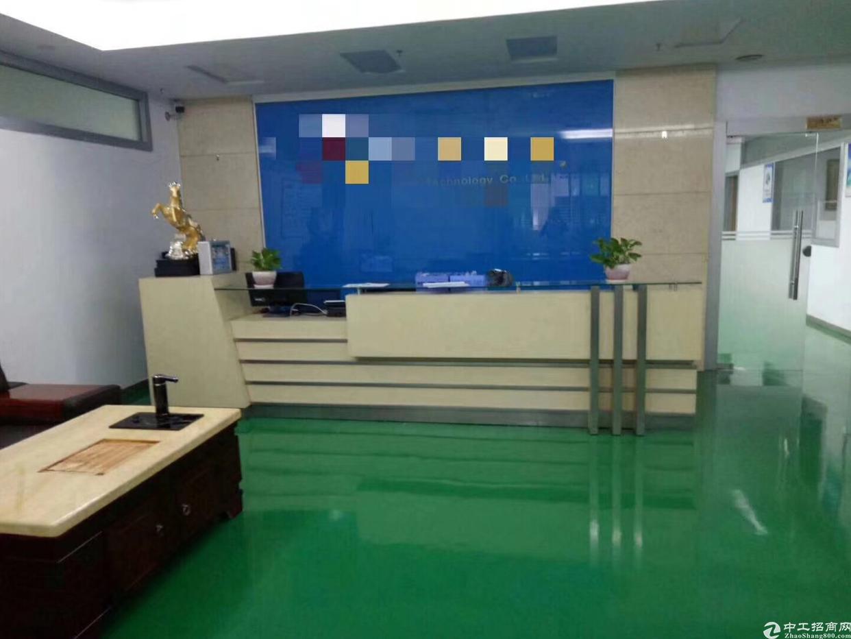 福永宝安大道地铁口旁新出楼上780平原房东厂房出租