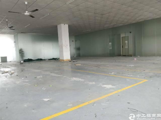 大朗镇水平村实业客分租楼上600平,现成水电装修,价格优惠!
