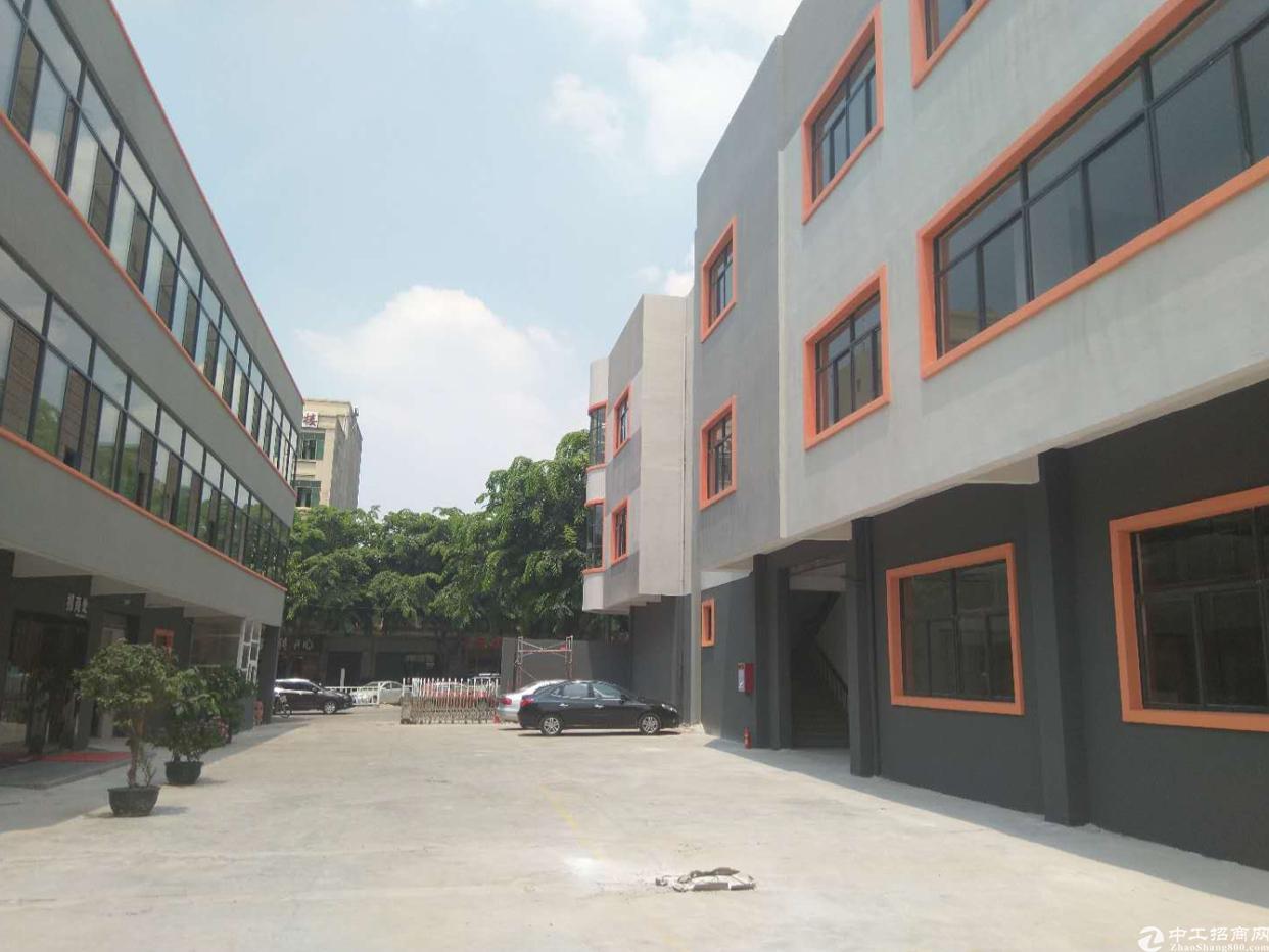 厚街新塘村独院分租一楼5.5米高厂房1200平可做鞋厂空地大